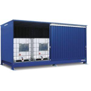 Container, 1K 514.OST-ISO A, 4 IBC de 1000 l