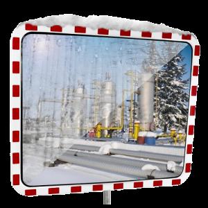 Oglinda trafic anti-inghet 60x80cm
