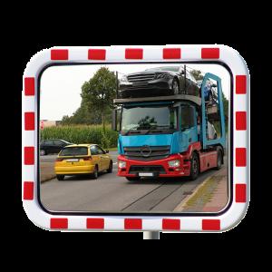 Oglinda trafic policarbonat 60x80cm