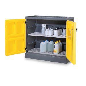 Dulap de depozitare acizi si baze PS 1211-2, grilaj inox