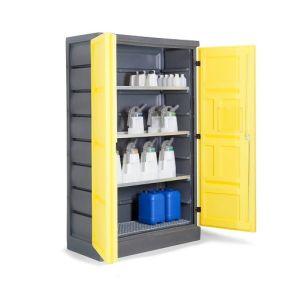 Dulap de depozitare acizi si baze PS 1220-3.1, grilaj galvanizat