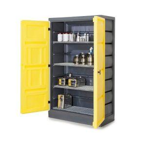 Dulap de depozitare acizi si baze PS 1220-4, grilaj inox