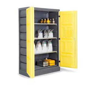 Dulap de depozitare acizi si baze PS 1220-3.1, grilaj inox