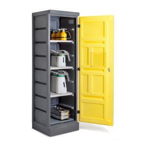 Dulap de depozitare acizi si baze PS 620-4, grilaj inox