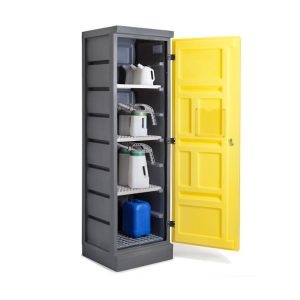 Dulap de depozitare acizi si baze PS 620-4, grilaj galvanizat