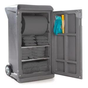 Dulap de butoaie Securo SC-1 pentru 1 butoi de 200 litri