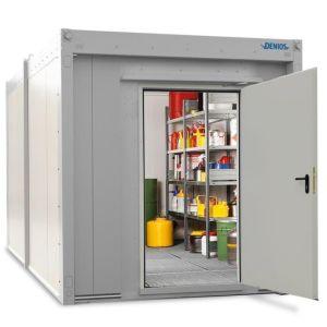 Container antifoc REI90 WFP-M 6, suprafata depozitare 6m², H=2280mm, usa frontala simpla