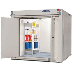 Container antifoc REI90 WFP-M 6, suprafata depozitare 6m², H=2280mm, usa dubla frontala
