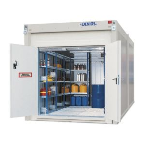 Container antifoc REI90 WFP-X 10, suprafata depozitare 10m², H=2500mm, usa dubla frontala