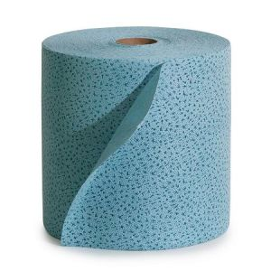 Laveta de curatare reutilizabila la rola, albastru
