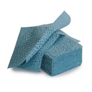 Laveta de curatare reutilizabila la pachet, albastru