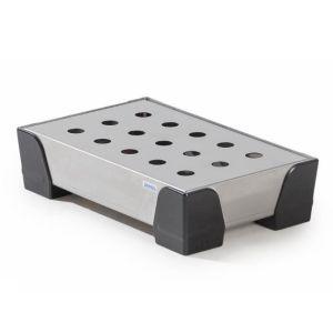 Cuva de retentie pentru recipienti mici WP 5 din inox cu placa perforata din inox