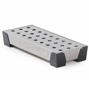 Cuva de retentie pentru recipienti mici WP 7 din inox cu placa perforata din inox