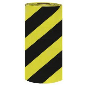 Banda avertizare marcaj podea WalkWay galben-negru